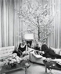 Joan Crawford and Alfred Steele, 1958, in their East 70th ...