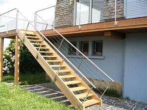 quelques notions pour bien construire son escalier en bois With construire un escalier exterieur en bois