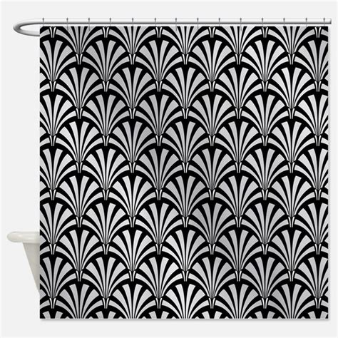 Deco Drapes - deco shower curtains deco fabric shower curtain