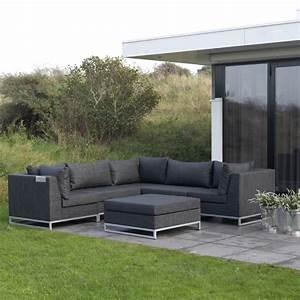 Garten Couch Lounge : ibiza outdoor garnitur von exotan 6 module erweiterbar ~ Indierocktalk.com Haus und Dekorationen