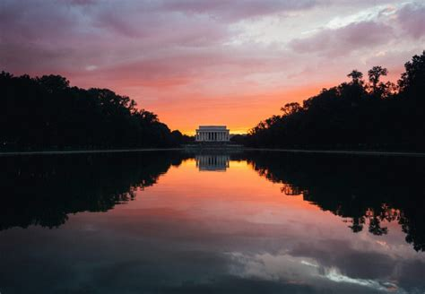 lincoln memorial reflecting pool washington dc pictures