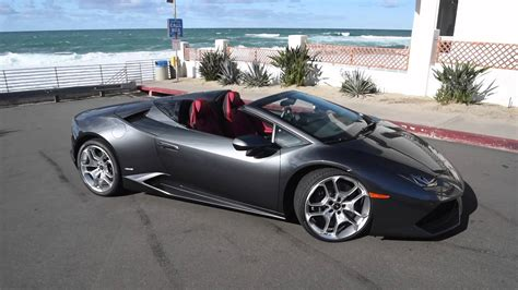 convertible lamborghini red lamborghini huracán spyder convertible in action youtube