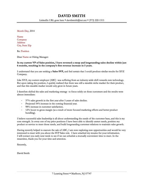 great cover letter examples letters  sample letters