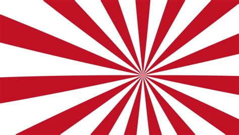 A Seamless Looping Red And White Pinwheel Background Stock