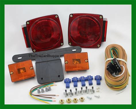 stt 440 lights marker lights wiring and connector trailer light kit ebay