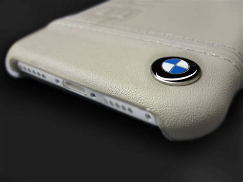 bmw apple iphone official racing leather case
