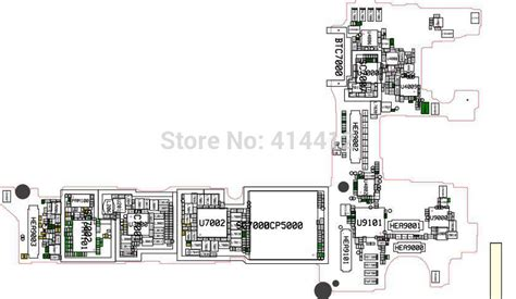 aliexpress buy note4 galaxy note 4 smart phone repair reference schematic pcb board