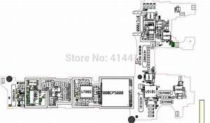 Galaxy A7 A7009 Smart Phone Repair Reference Schematic Pcb Board Diagram Maintenance Manual