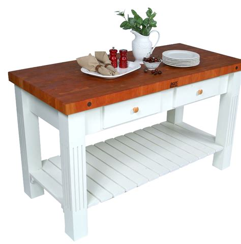 butcher block prep table 7 prep tables with wood top for your kitchen cute furniture