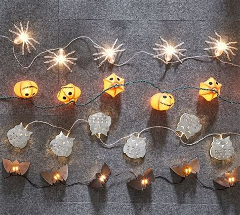 owl string lights owl string lights galvanized pottery barn