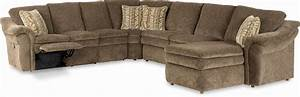 5 piece sectional with las chaise and power recline With lazy boy devon sectional sofa