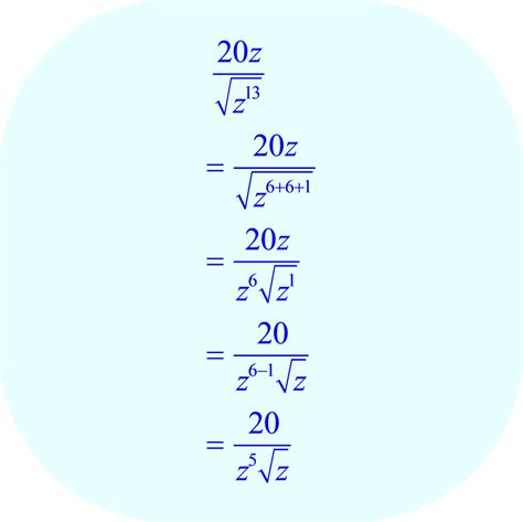 multiplying and dividing radical expressions solver