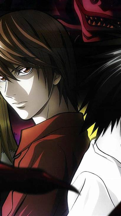 Note Death Wallpapers Yagami Phone Android Lawliet