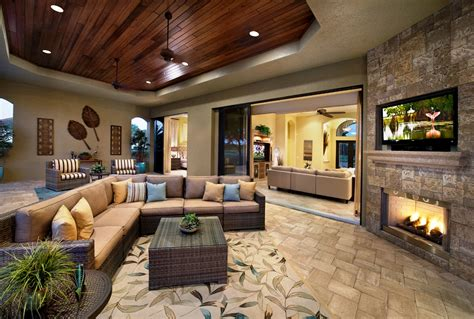 Outdoor Entertainment Center Living Area Kitchen