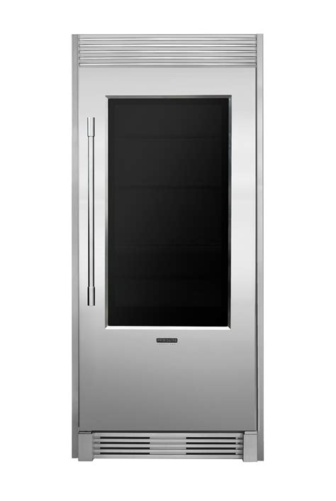 frigidaire professional unveils  glass door