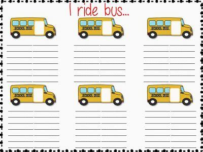 bus riders freebie      grader blog pinterest buses