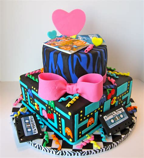 awesome cakes cakegirl on the run totally awesome 80s cake