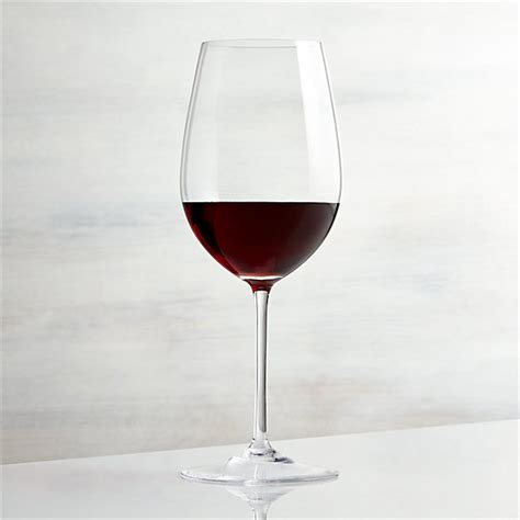 vineyard  oz bordeaux wine glass reviews crate