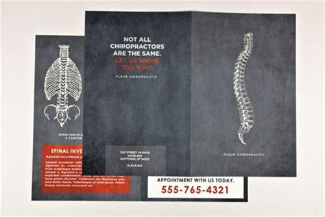 chiropractic brochure template inkd