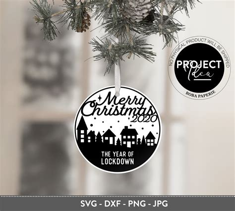 Is there a free merry christmas svg file? 2020 Christmas Ornament Bundle SVG (940612) | Cut Files ...