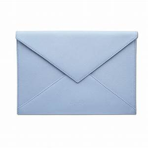 pineider city chic leather envelope shaped document case With document envelope