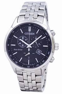citizen eco drive chronograph tachymeter at2140 55e 39 s