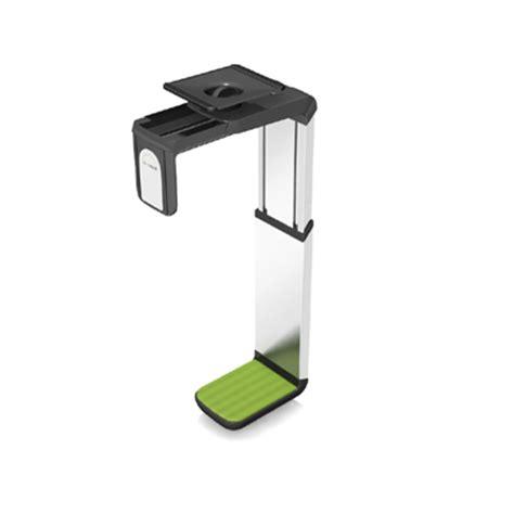 Cpu Holder Desk Mount Small humanscale cpu600 desk mount cpu holder
