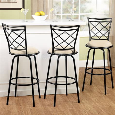 adjustable swivel bar stool set counter height kitchen
