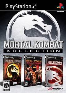 Mortal Kombat Kollection Sony Playstation 2 Game