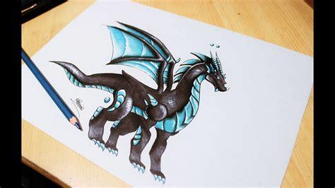 speed drawing dragon tesla dragon city youtube