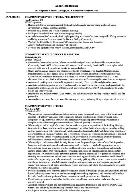 Resume For Community Service by How To List Community Service On Resume Bijeefopijburg Nl