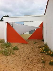 Toile Tendue Jardin : brise vue en toile pour terrasse brise vue cloture exoteck ~ Melissatoandfro.com Idées de Décoration