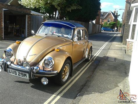 volkswagen gold volkswagen 1300 beetle gold 1973