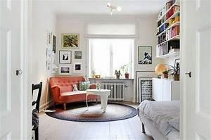 astuce comment meubler un petit studio astuces bricolage With comment meubler un grand salon 5 deco salon avec alcove