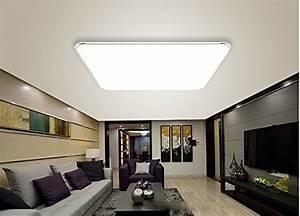 Deckenlampe Küche Modern : 36w kaltwei led modern deckenlampe ultraslim deckenleuchte schlafzimmer k che flur wohnzimmer ~ Frokenaadalensverden.com Haus und Dekorationen
