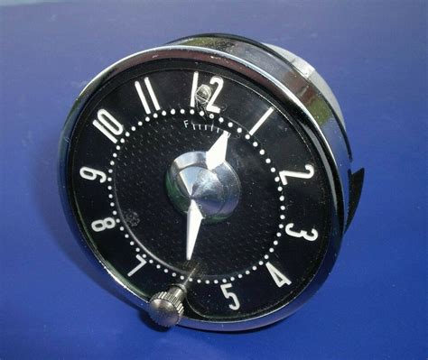 55 56 chevy quartz clock 1955 1956 new 1955 1956 chevrolet ebay