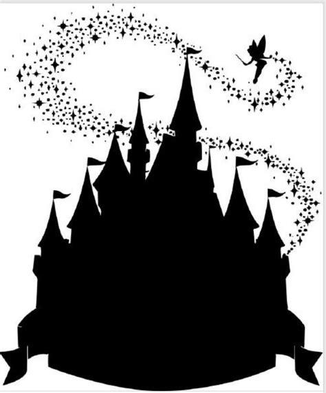 Disney Castle Clipart Cinderella Silhouette Clip Disney Castle Silhouette