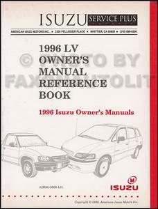 1996 Isuzu Hombre Repair Shop Manual Set Original