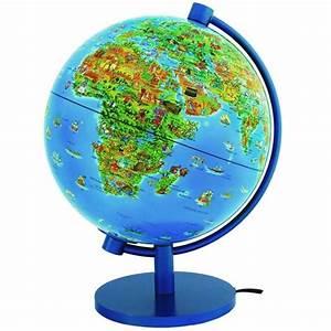 Globe Terrestre Enfant : globe terrestre lumineux pas cher globe terrestre lumineux sur enperdresonlapin ~ Teatrodelosmanantiales.com Idées de Décoration