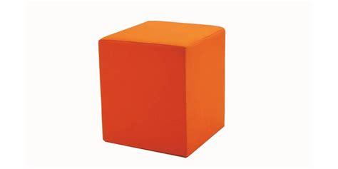 Softline Pouf Orange  Tous Les Poufs Et Coussins Sur