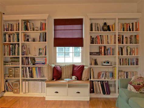 Cabinet & Shelving  Diy Built In Bookshelves Building
