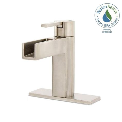 Modern Bathroom Faucets Home Depot by Pfister Single Single Handle Bathroom Faucet In
