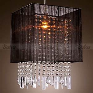 Modern crystal mini style chandelier pendant ceiling light