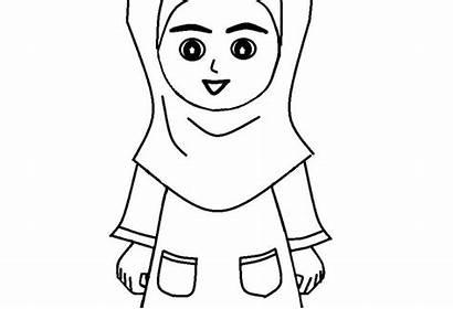 Kartun Gambar Sketsa Mewarnai Anak Gampang Karikatur