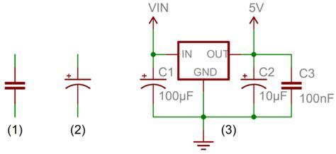 Polari Voltage Regulator Wiring Diagram by Capacitors Learn Sparkfun