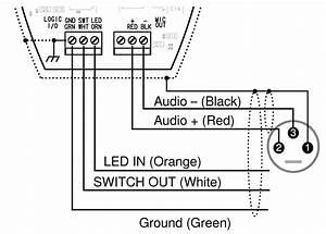 Dukane Desktop Stand Microphone Circuit Diagram
