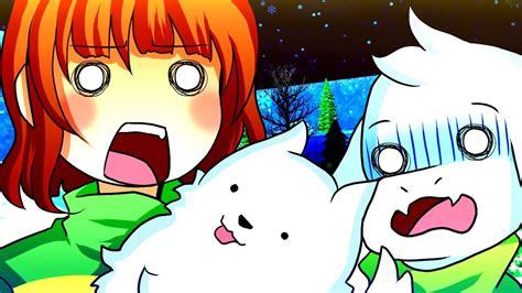 Chara & Asriel Swap Bodies! Funny Undertale Au Animation