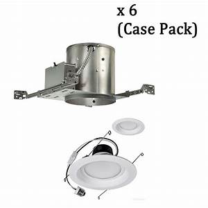 4 in led remodel recessed lighting kit : Led light design surprising inch recessed lighting