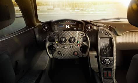 In addition to the carbon fiber body kit, complete with a new hood, front splitter, canards and rear wing, and. Extreme is a Soft Word to Describe New McLaren P1 GTR's Interior w/Video | Carscoops
