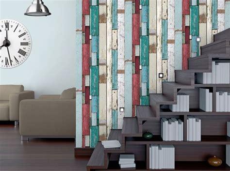 Tapisserie Imitation Lambris by Papier Peint Effet Lambris Colors With Tapisserie